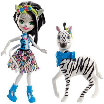 Boneca-Enchantimals---15-Cm---Hoofette-e-Zebra---Mattel