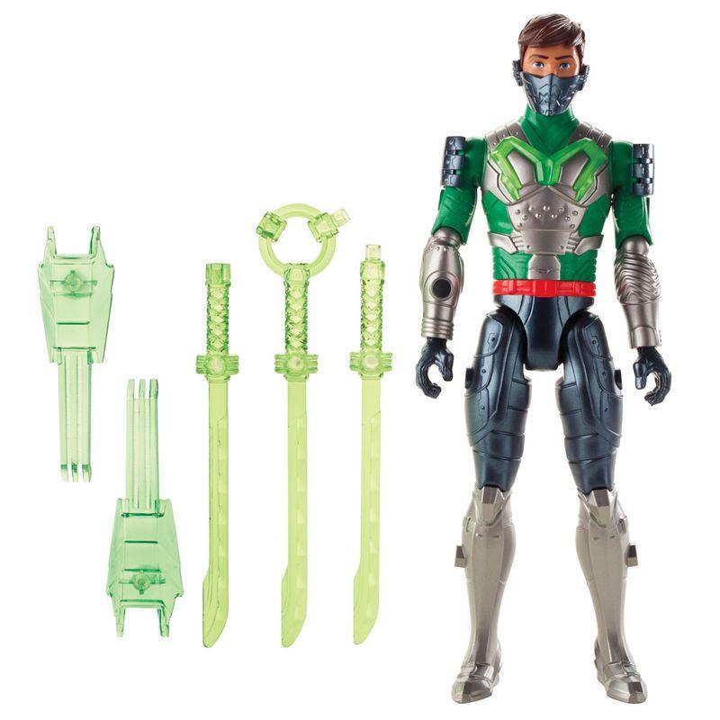 5d4a911879 Boneco Articulado - 30 Cm - Max Steel - Ataque Multi Espadas - Mattel - Ri  Happy Brinquedos
