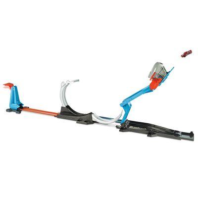 Conjunto-Pista-e-Veiculo---Hot-Wheels---Track-Builder---Desafio-Lancador---Mattel