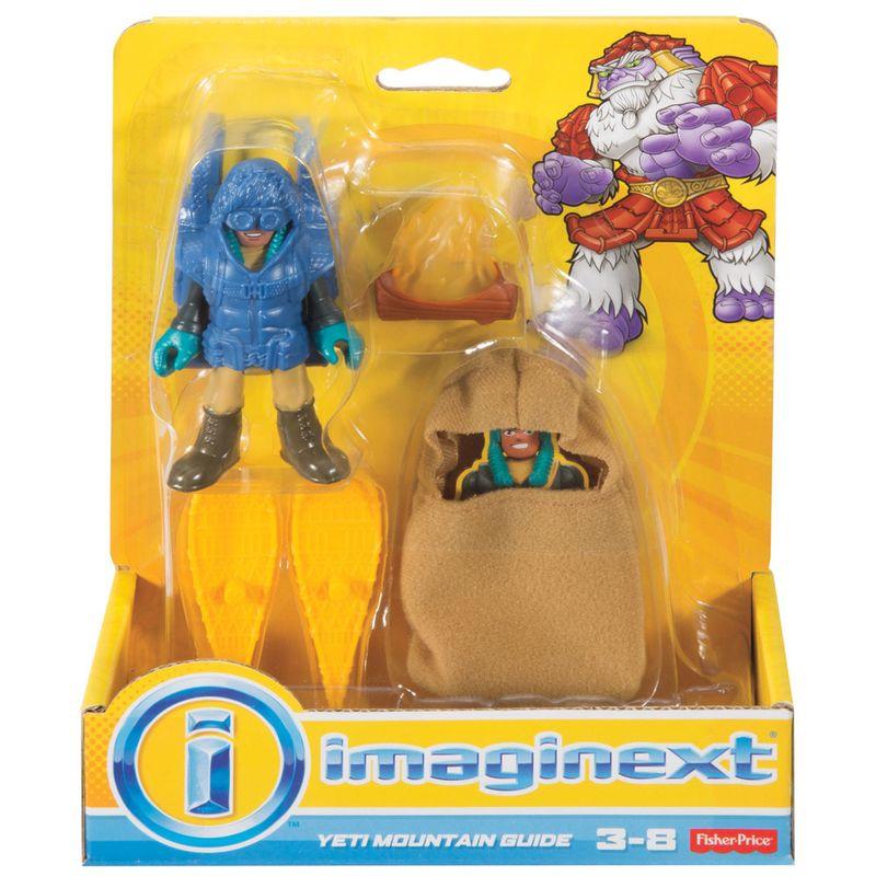 61a001296 Mini Figuras - Imaginext - Yeti - Guia da Montanha - Fisher-Price - Ri  Happy Brinquedos