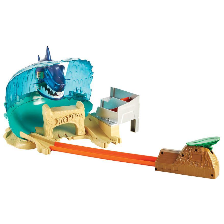 Pista-Hot-Wheels---City---Ataque-Tubarao---Mattel