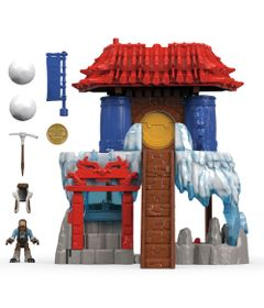 Playset-e-Mini-Figuras---Imaginext---Yeti---Montanha---Fisher-Price