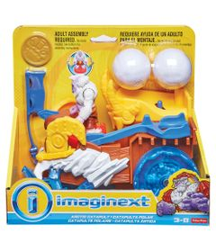 Veiculo-e-Mini-Figuras---Imaginext---Yeti---Catapulta-Artica---Fisher-Price