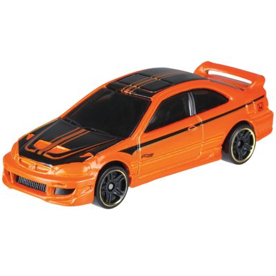 Veiculo-Hot-Wheels---Edicao-70-Anos---Honda---Honda-Civic-Coupe---Mattel
