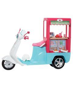 Boneca-Barbie-e-Veiculo---Scooter-de-Lanchinhos---Mattel