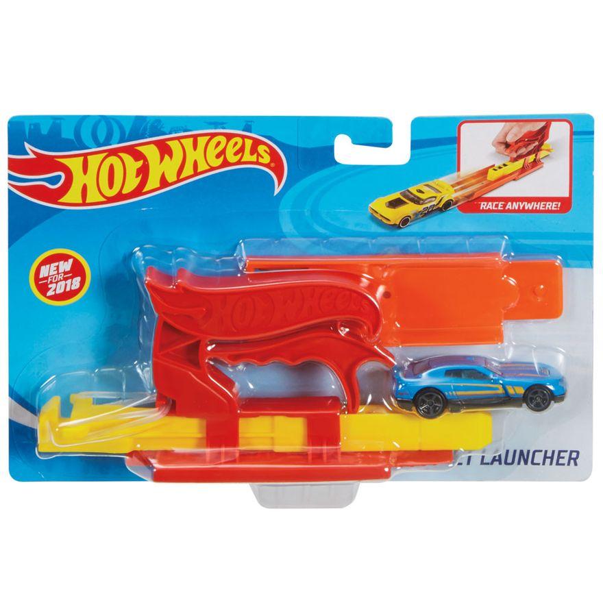 Lancador-de-Veiculos---Hot-Wheels---Vermelho---Mattel