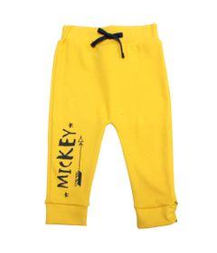 Calca-em-Suedine---Amarela---Floresta-Mickey---Disney---P