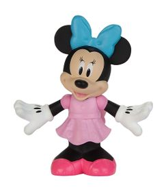 Mini-Figura---7-Cm---Disney---Movimentos-Divertidos---Minnie-Mouse-Rosa---Fisher-Price