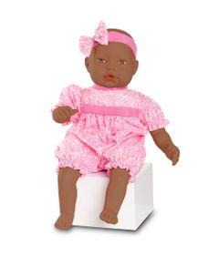 boneca-bebe-baby-by-jensen-negra-macaquinho-rosa-roma-jensen-5409_Frente