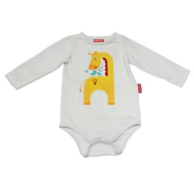 Body-Manga-Longa-em-Cotton---Girafa-3D---Branco---Fisher-Price---P