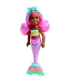 Mini-Boneca---Barbie---Dreamtopia---Sereias---Chelsea---Rosa---Mattel