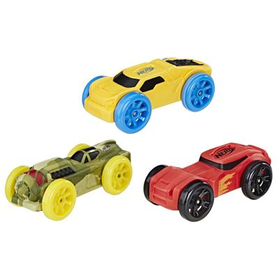 Refil-Nerf-Nitro-com-03-Carrinhos-de-Espuma---Verde-Amarelo-e-Vermelho---Hasbro