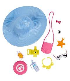 Roupinha-e-Acessorios---Barbie---Itens-Praia---Mattel
