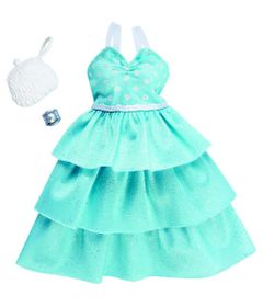 Roupinha-e-Acessorios---Barbie---Vestido-Verde---Mattel