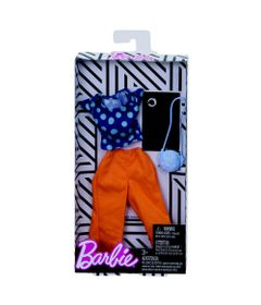 Roupinha-e-Acessorios---Barbie---Calca-Laranja---Mattel