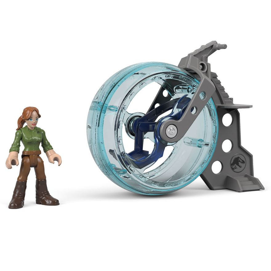 Figura-Basica-Imaginext---Jurassic-World-2---Claire-e-Girosfera---Fisher-Price