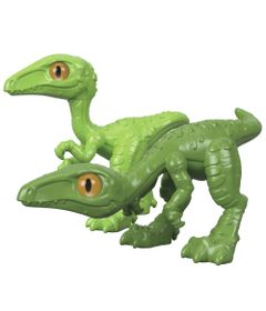 Figura-Basica-Imaginext---Jurassic-World---Filhote-Compsognato---Verde---Fisher-Price