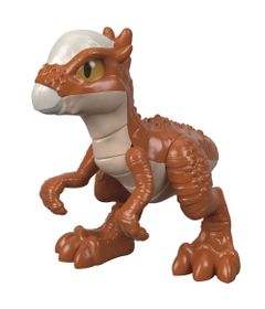 Figura-Basica-Imaginext---Jurassic-World---Filhote-Stygimiloch---Marrom---Fisher-Price