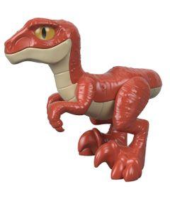 Figura-Basica-Imaginext---Jurassic-World---Filhote-Velociraptor---Vermelho---Fisher-Price
