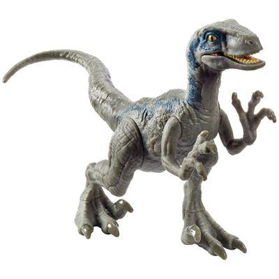 Figura-Basica---Jurassic-World-2---Ataque-PK---Velociraptor---Blue---Mattel
