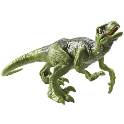 Figura-Basica---Jurassic-World-2---Ataque-PK---Velociraptor---Verde---Mattel