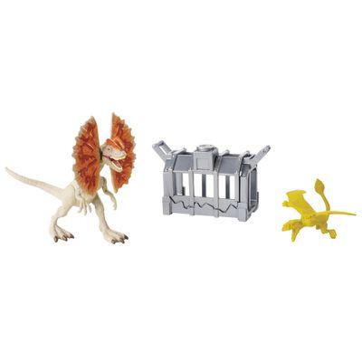 Figura-Basica---Jurassic-World-2---Destrutosauros---Dilofossauro---Mattel