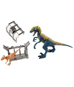 Figura-Basica---Jurassic-World-2---Destrutosauros---Velociraptor---Mattel