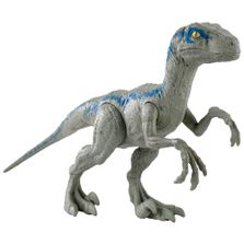 Figura-Basica---Jurassic-World-2---Dino-Value---Velociraptor---Cinza---Mattel