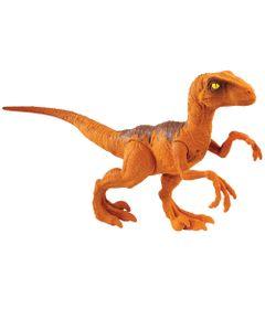Figura-Basica---Jurassic-World-2---Dino-Value---Velociraptor---Laranja---Mattel