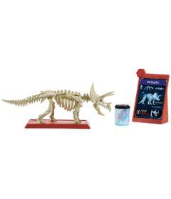Figura-Basica---Jurassic-World-2---Esqueleto-Jurassico---Triceratops---Mattel