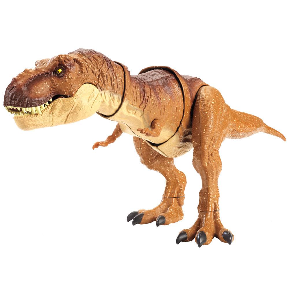 Figura Básica - Jurassic World 2 - Mega Mordida - Tiranossauro Rex - Mattel