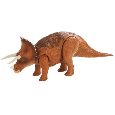 Figura-Basica---Jurassic-World-2---Roavivores---Triceratops---Mattel