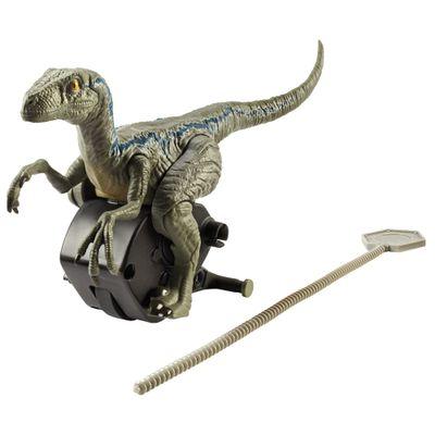 Figura---Jurassic-World-2---Rip-Run---Chaser---Velociraptor-Blue---Mattel