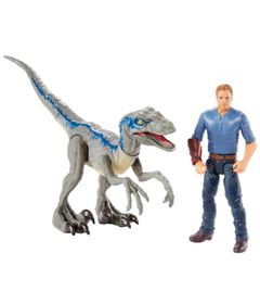 Figuras-Basicas---Jurassic-World-2---Conjunto-Aventura---Owen-e-Blue---Mattel