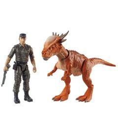 Figuras-Basicas---Jurassic-World-2---Conjunto-Aventura---Soldado-e-Stygimoloch---Mattel