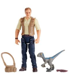 Figuras-Basicas---Jurassic-World-2---Owen-com-Baby-Blue---Mattel