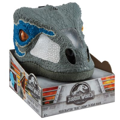 Mascara-Eletronica---Jurassic-World-2---Velociraptor---Mattel