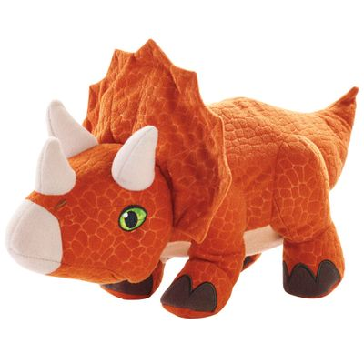 Pelucia-Basica---Jurassic-World-2---Ovo-Plush-Reversivel---Triceratops---Mattel