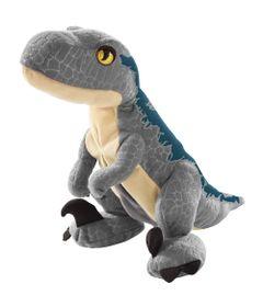 Pelucia-Basica---Jurassic-World-2---Ovo-Plush-Reversivel---Velociraptor-Blue---Mattel