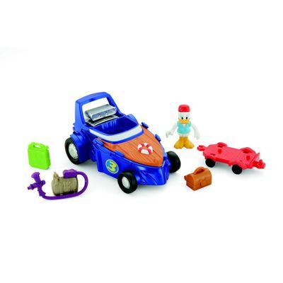 Figura-e-Veiculo-Transformavel---Disney---Donald---Roadster-Racers---Frente