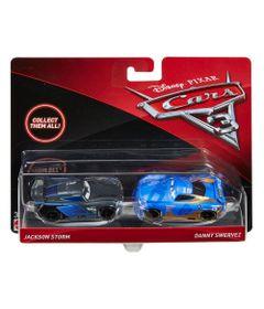 Carrinho-Die-Cast---Pack-com-2-Veiculos---Disney---Pixar---Cars-3---Jackson-Storm-e-Danny-Swervez---Frente