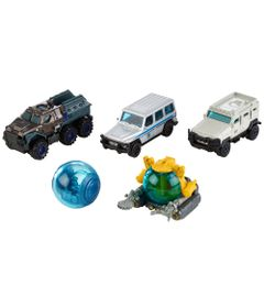 Carrinhos---Jurassic-World-2---Pack-com-5-Carrinhos---Mattel