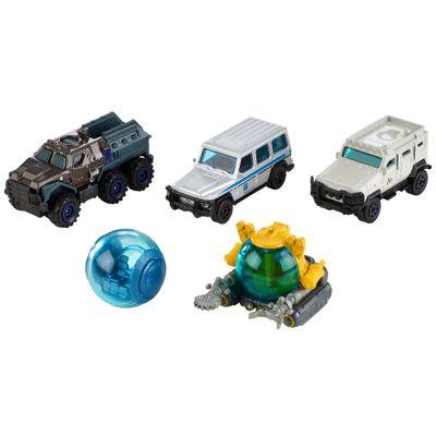 Carrinhos---Jurassic-World-2---Pack-com-5-Carrinhos---Mattel