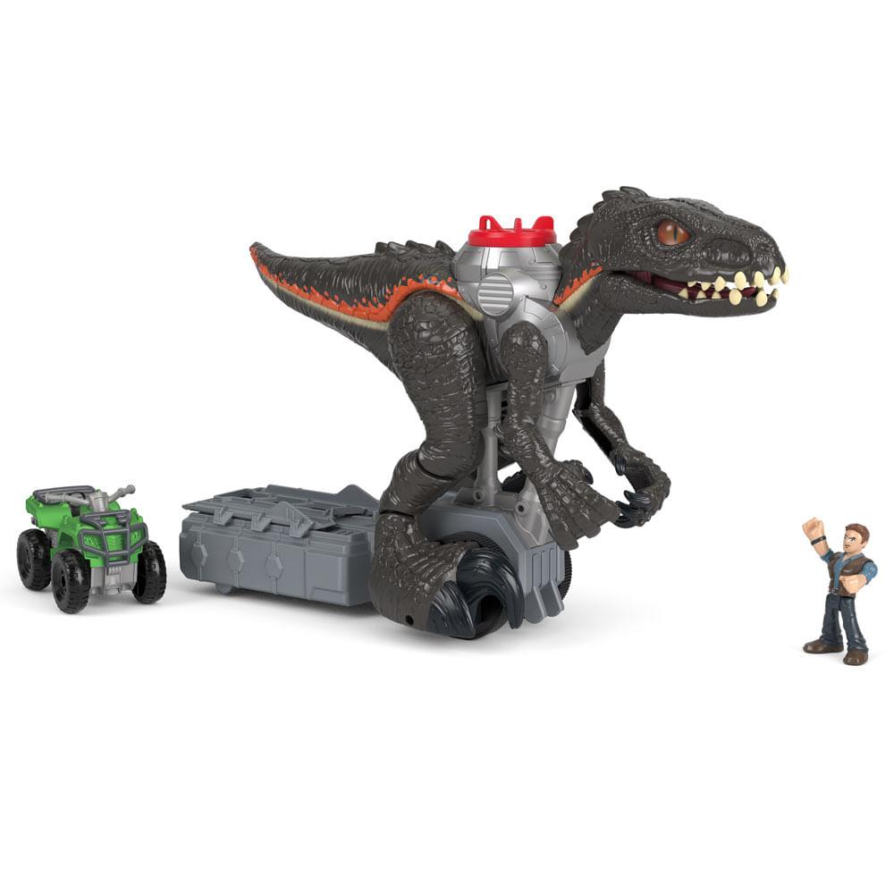 Figura Básica Imaginext - Jurassic World 2 - 30 Cm - Indoraptor - Fisher-Price