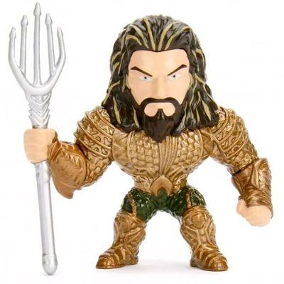 Figura-Colecionavel---6-Cm---Metal-Die-Cast---DC-Comics---Liga-da-Justica---Aquaman---DTC