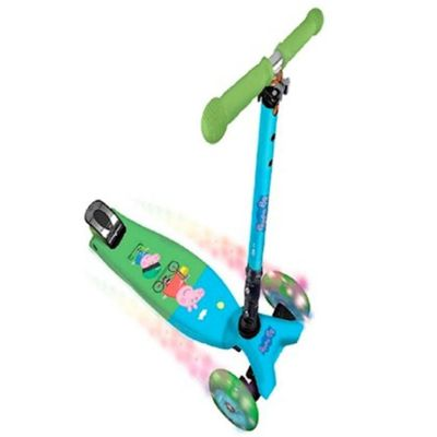 Patinete---Peppa-Pig-Flash---3-Rodas-com-Luzes-Dobravel---DTC