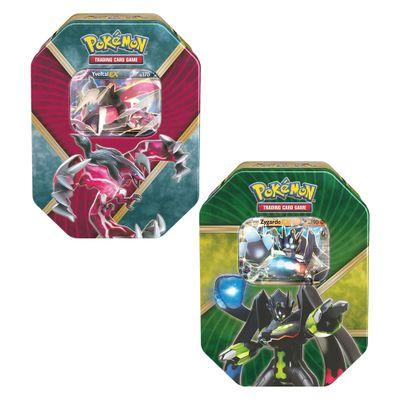 Kit-com-2-Decks-Lata-Pokemon-EX---Yveltal-e-Zygarde---Copag