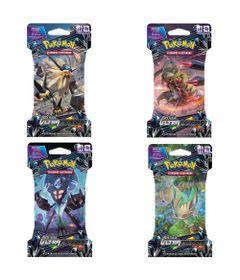 Kit-com-4-Decks-Pokemon---Sol-e-Lua-Ultra-Prisma---98633---Copag