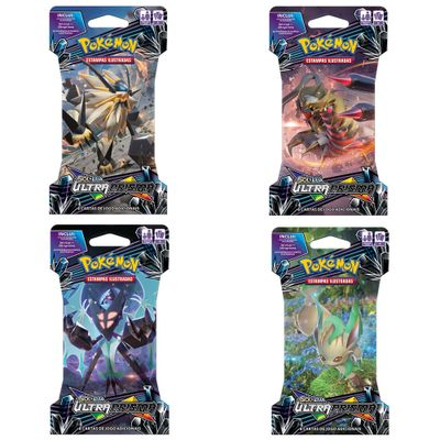 Kit-com-4-Decks-Pokemon---Sol-e-Lua-Ultra-Prisma---98633---Copag