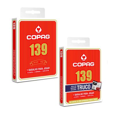 Kit-Jogo-de-Cartas---Baralho-Profissional---139-Tradicional-e-139-Truco---Vermelho---Copag